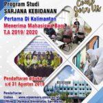 Sarjana Kebidanan Pertama di Kalimantan
